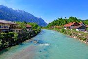The Loisach river, Eschenlohe
