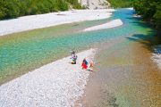 Cooling off in the Isar River