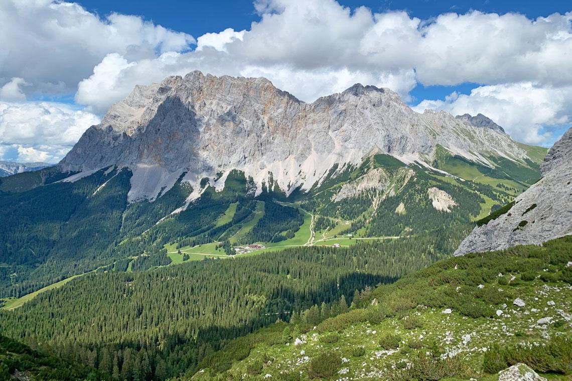 Zugspitze walking holiday
