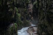 Hiking through the Partnach Gorge, Garmisch-Partenkirchen