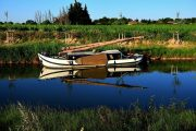 Boat on the Canal du Midi