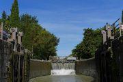 Lock on the Canal du Midi