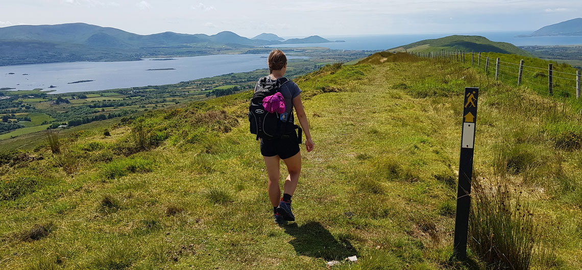 self guided hiking on the kerry way