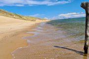 Tranestederne Beach between Hulsig and Skagen