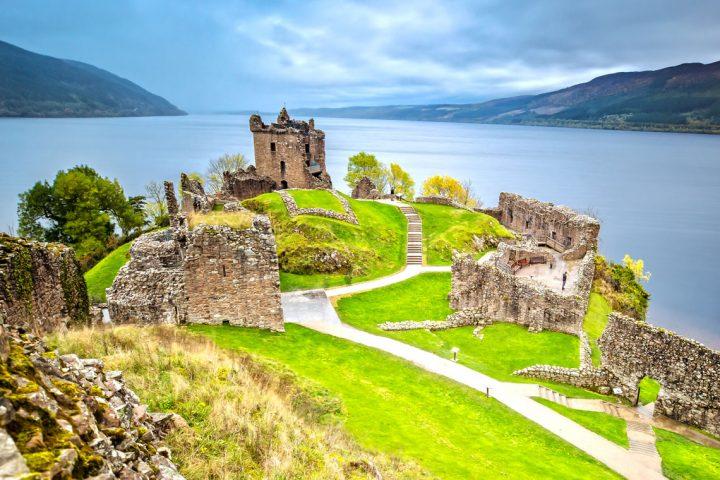 The Great Glen Way Loch Ness Urquhart Castle