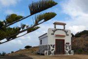 Et lille kapel langs vandrerute på La Gomera