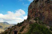 Roque Cano-klippen over Vallehermoso