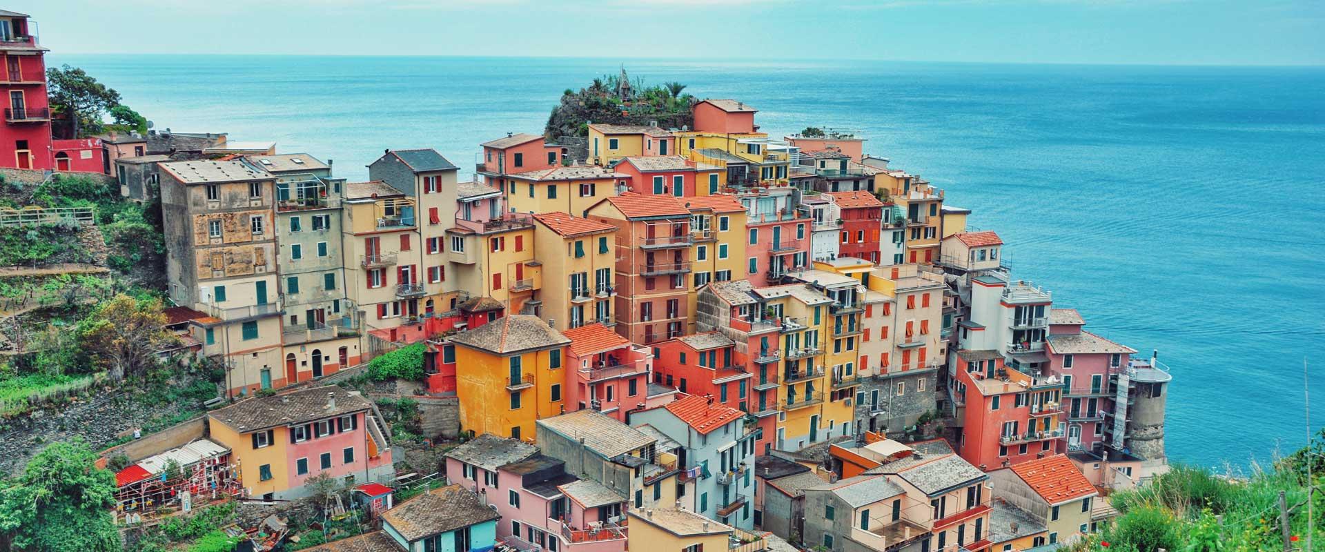 Cinque Terre og Portofino