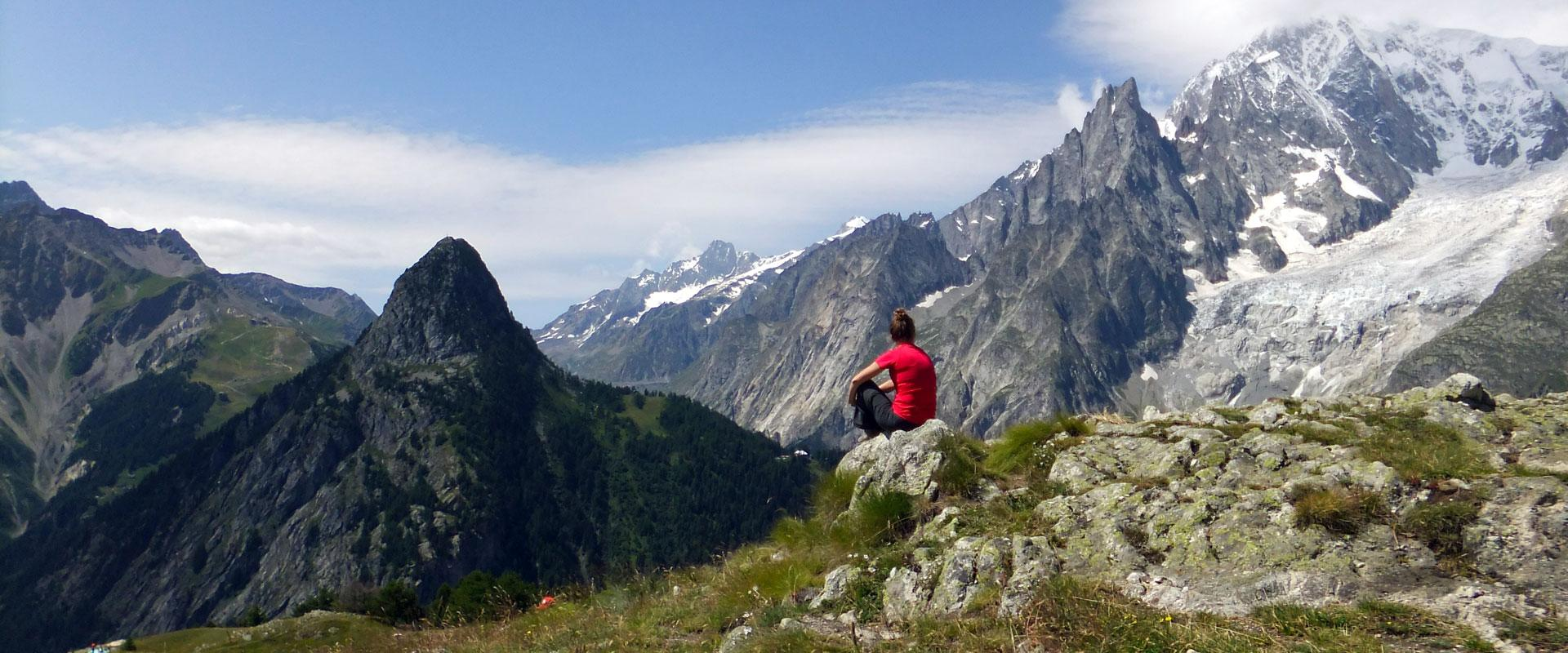 Alperne: Tour du Mont Blanc