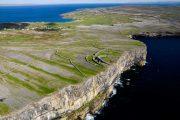 Stenalderborgen Dún Aonghasa på Inishmore