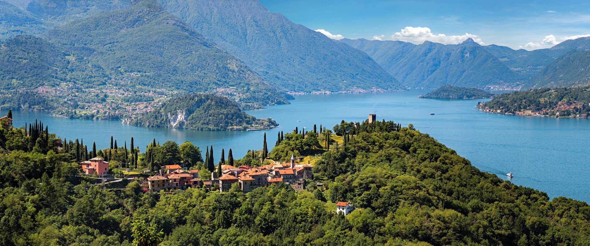 Como-søen og Lugano-søen