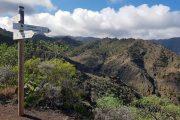 Vandreskilte på La Gomera