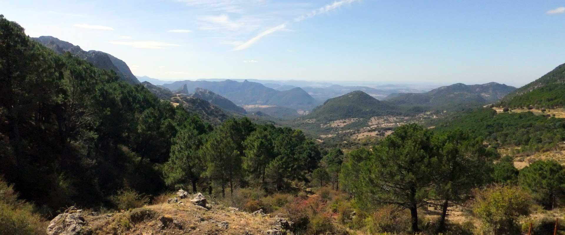 Andalusien: Sierra de Grazalema