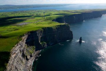 Udsigt over Cliffs of Moher