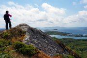 Udsigt over Derrynane Bay tæt ved Caherdaniel