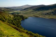 Lough Dan set fra The Wicklow Way