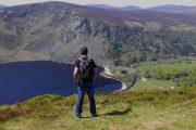 Udsigt over søen Lough Tay, også kendt som 'The Guinness Lake'