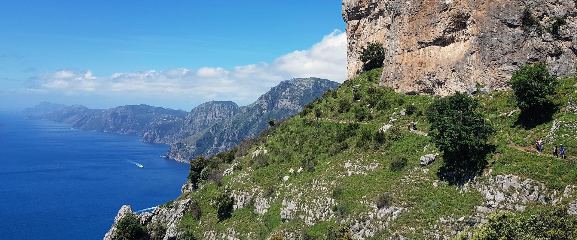 Amalfikysten og Capri vandreferie