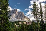 Udsigt til Monte Putia i Val Badia
