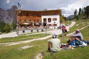 Rifugio Fanes i Dolomitterne