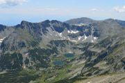 Udsigt over Pirin-bjergene