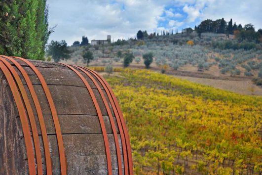 Chianti-ruten i Toscana