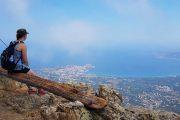View of Calvi from Capu di a Veta
