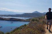 Revellata Peninsula hiking