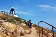 Revellata Lighthouse walk, Calvi, Corsica