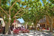 Luberon town square