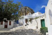 Cyclades village & church