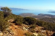 Cyclades hiking trail