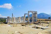 Resterne af templet Dimitra på Naxos