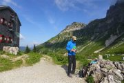 hiking the Dachstein, Hopfuergle lodge