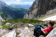 resting for lunch, Dachstein