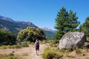 Hiking in the Niolu valley, Corsica