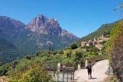 Hiking to Ota, Corsica