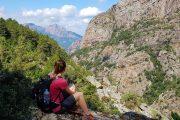 Hiking near Evisa, Corsica