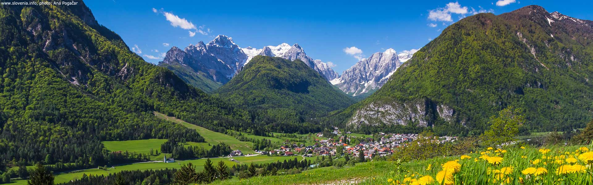 Vandreture i Slovenien