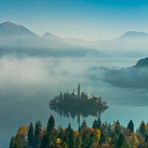 Vandreferie i Slovenien