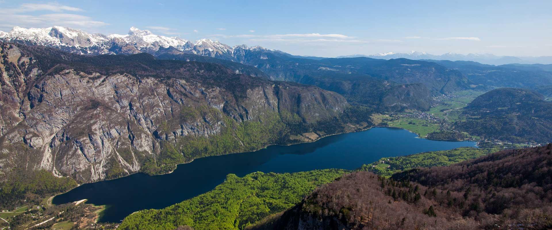Slovenske søer og dale