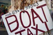 Boat taxi, Crete