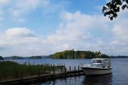 Båd på Borre Sø