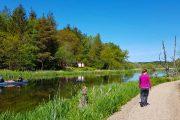Vandring langs Trækstien og kano på Gudenåen
