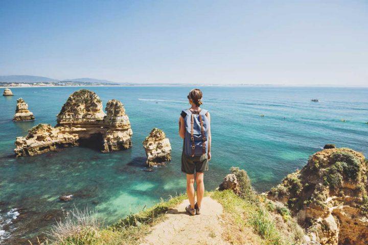 Vandring på Algarvekysten