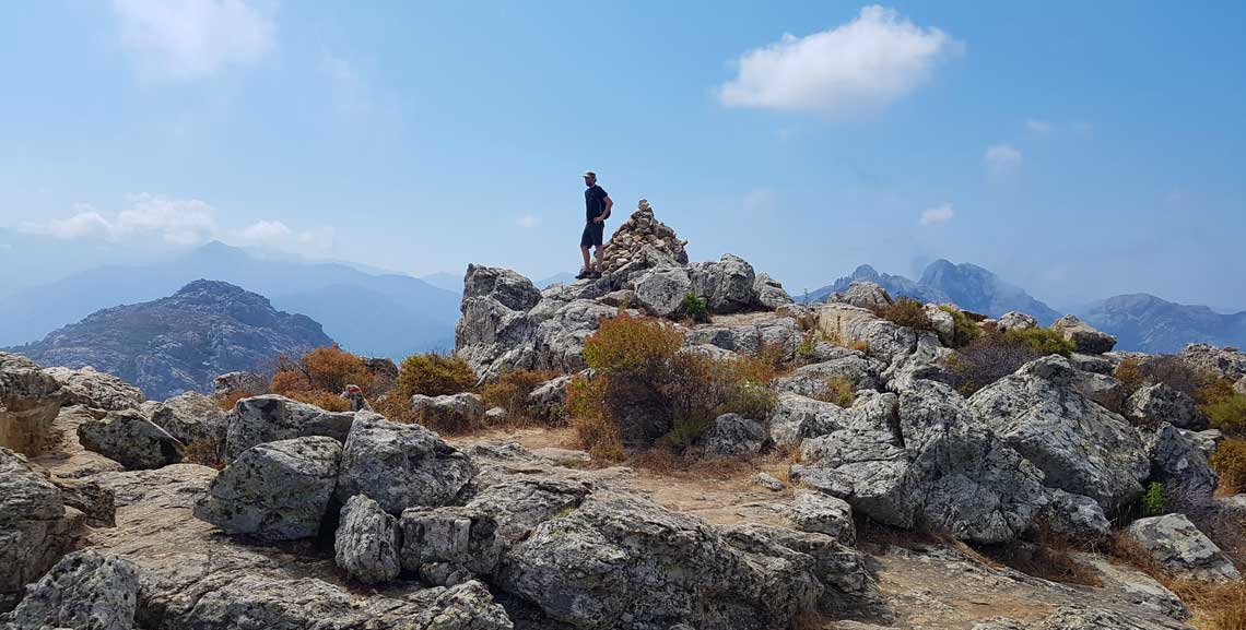 Toppen af Capu di a Veta