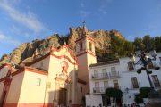Den lokale kirke, der ligger på torvet i Zahara de la Sierra.