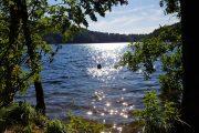 Badning i Slåensø, der er Danmarks reneste sø