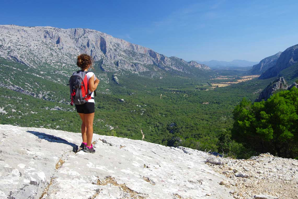 Hiking in Sardinia