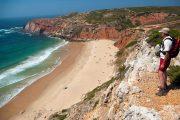 Vandring langs Algarvekysten